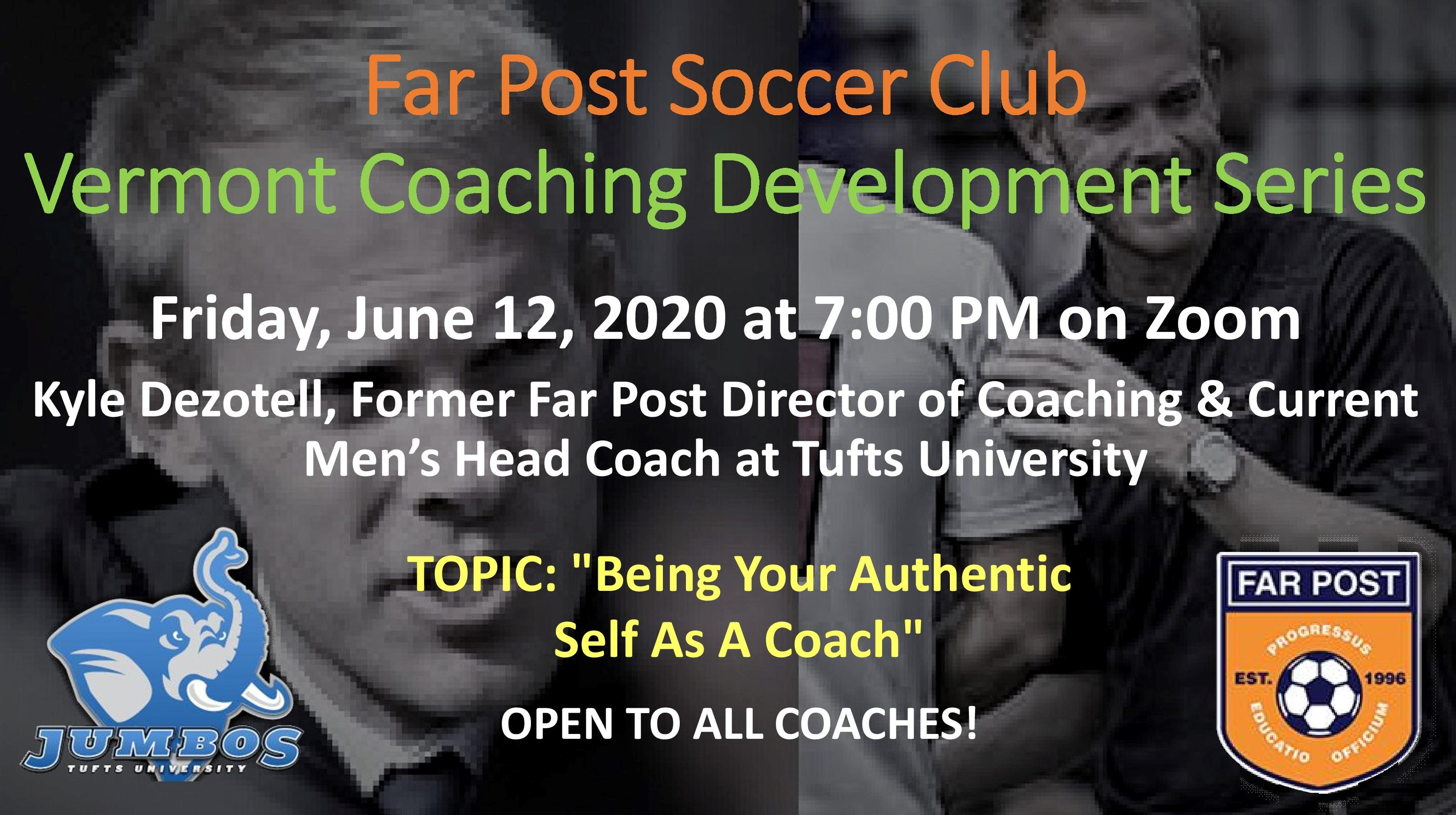 Vermont Coaches Development Series